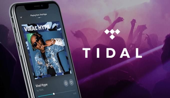 Aplikacja mobilna TIDAL