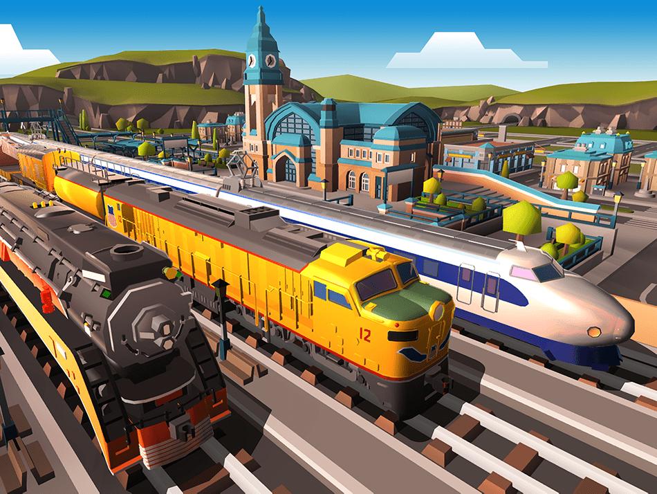 pociągi z gry TrainStation 2: Imperium kolei