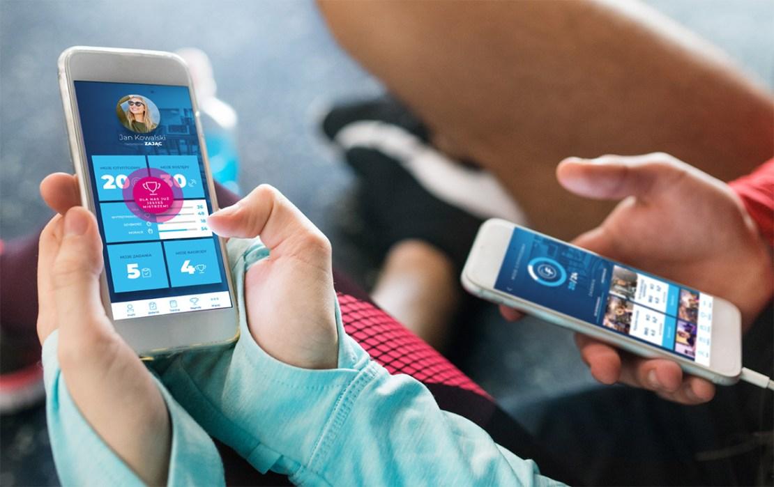 Aplikacja mobilna CityFit