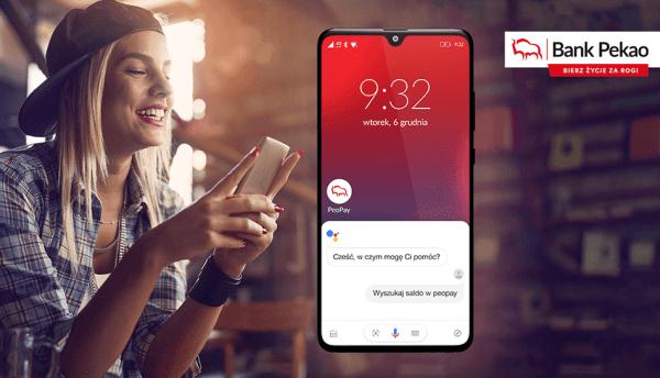 Asystent Google obsłuży teraz także aplikację PeoPay