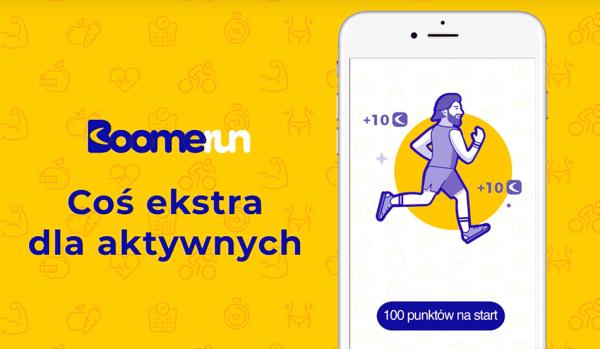 """Zarabiaj za chodzenie z polską aplikacją """"Boomerun"""""""