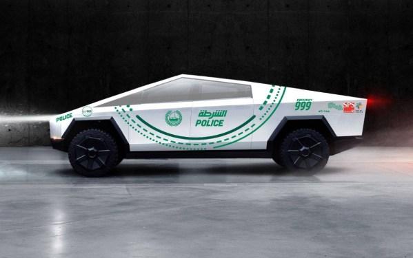 Policja w Dubaju będzie jeździła Cybertruckiem Tesli