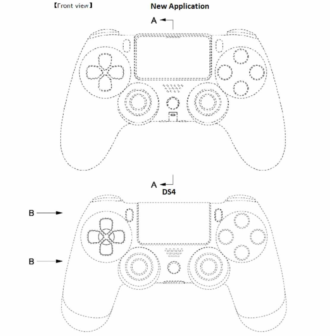 DualShock 5 vs. DualShock 4 (projekt)