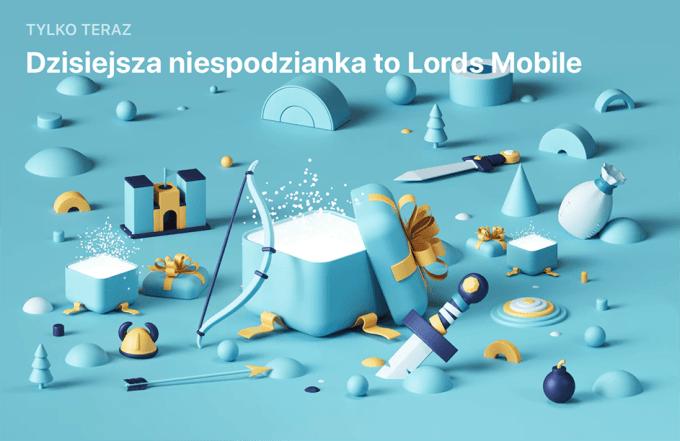 Niespodzianka App Store (28 grudnia): Lords Mobile