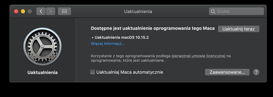 macOS 10.15.2 update