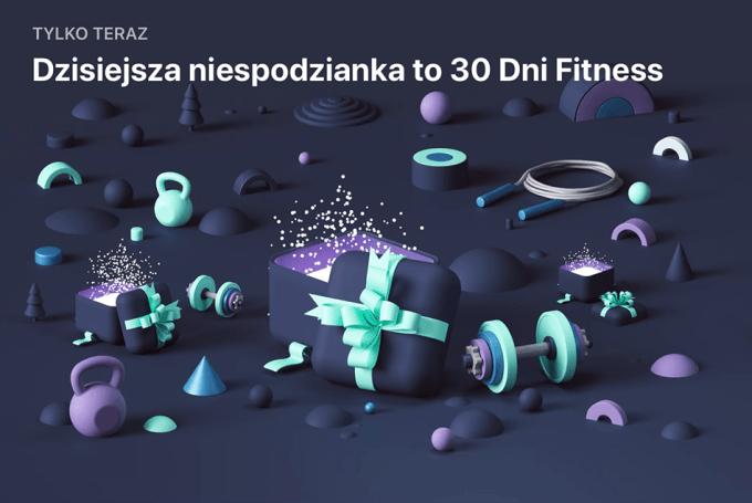 Niespodzianka App Store (29 grudnia): 30 Dni Fitness Wyzwanie w Domu