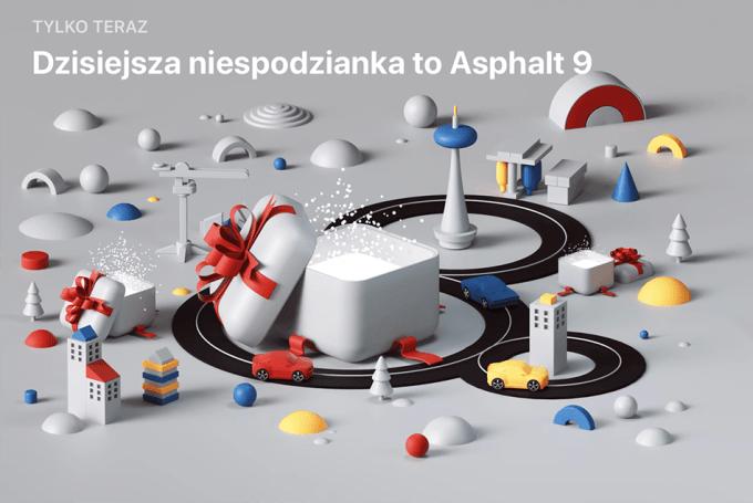 Niespodzianka App Store (29 grudnia): Asphalt 9