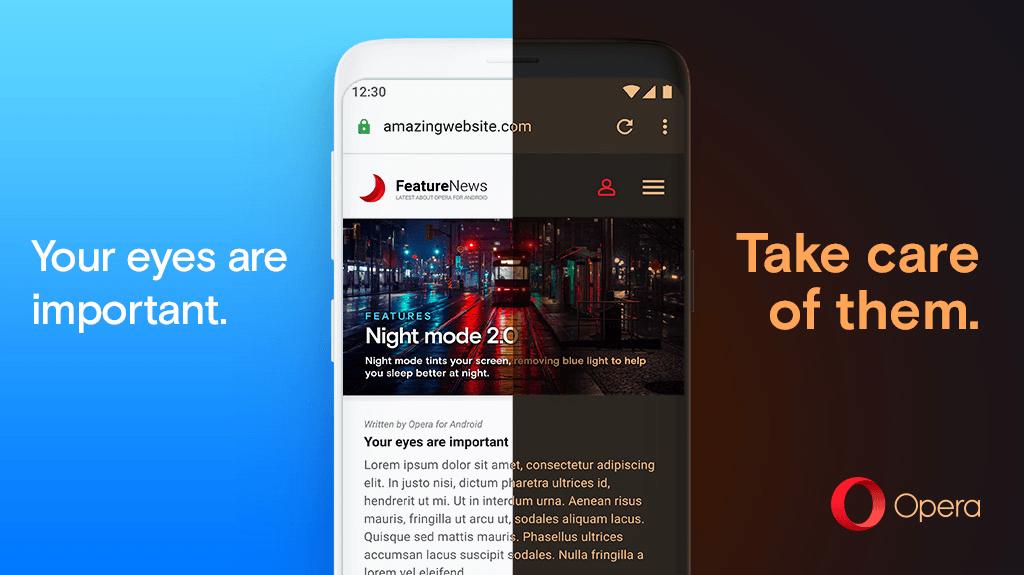 Opera 55 na Androida