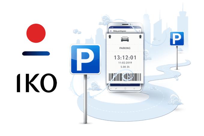 Opłaty za parking w aplikacji IKO od PKO BP