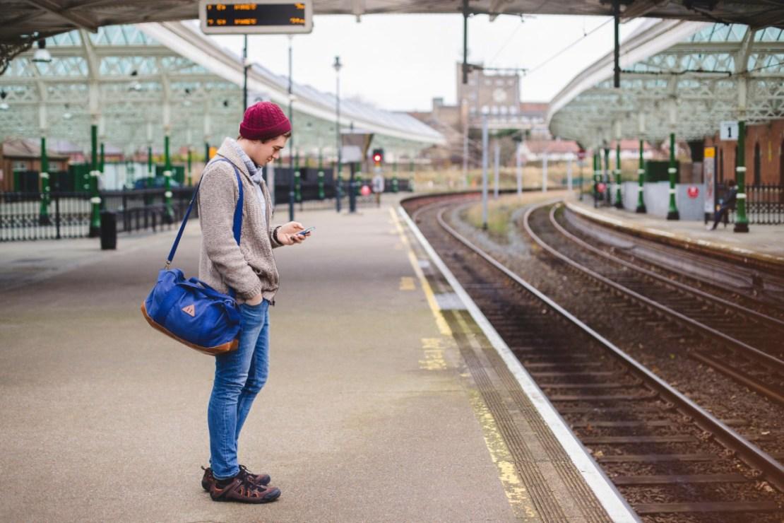 Powrót do domu pociągiem
