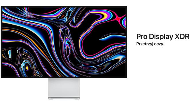 Wyświetlacz Pro Display XDR (Apple, 2019)