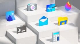 Ikony Windows 10 (3D, redesign)