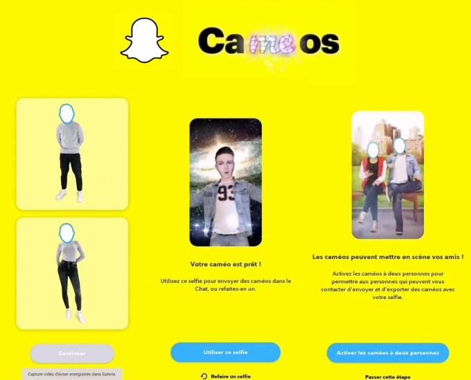 Snapchat Cameo