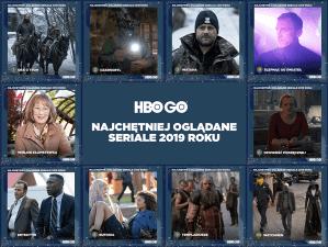HBO GO: najchętniej oglądane seriale w 2019 roku (Polska)