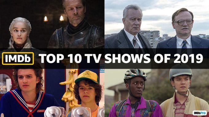 TOP 10 seriali 2019 roku (IMDb)