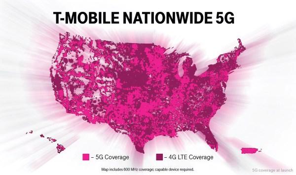 T-Mobile uruchamia sieć 5G w USA dla 200 mln mieszkańców!