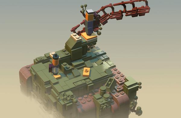 Studio Light Brick od LEGO będzie tworzyć czarujące gry