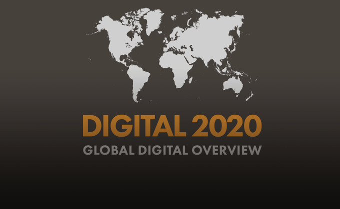 Digital, mobile, social media w 2020