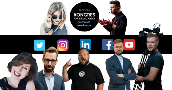 Kongres for Social Media 2020 już 22 stycznia!