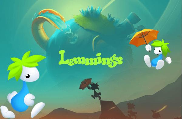"""Kultowa gra """"Lemmings"""" w nowej mobilnej odsłonie"""