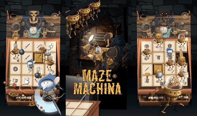 """Gra mobilna """"Maze Machina"""""""
