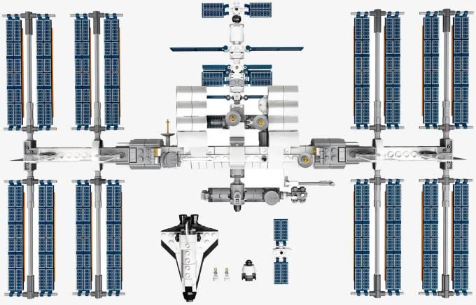 Międzynarodowa Stacja Kosmiczna z klocków LEGO