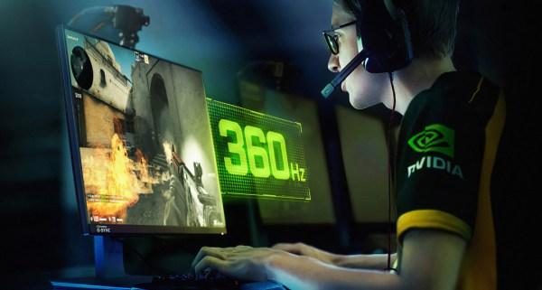 NVIDIA i ASUS przedstawiają monitor G-Sync 360 Hz 1080p: ROG Swift 360
