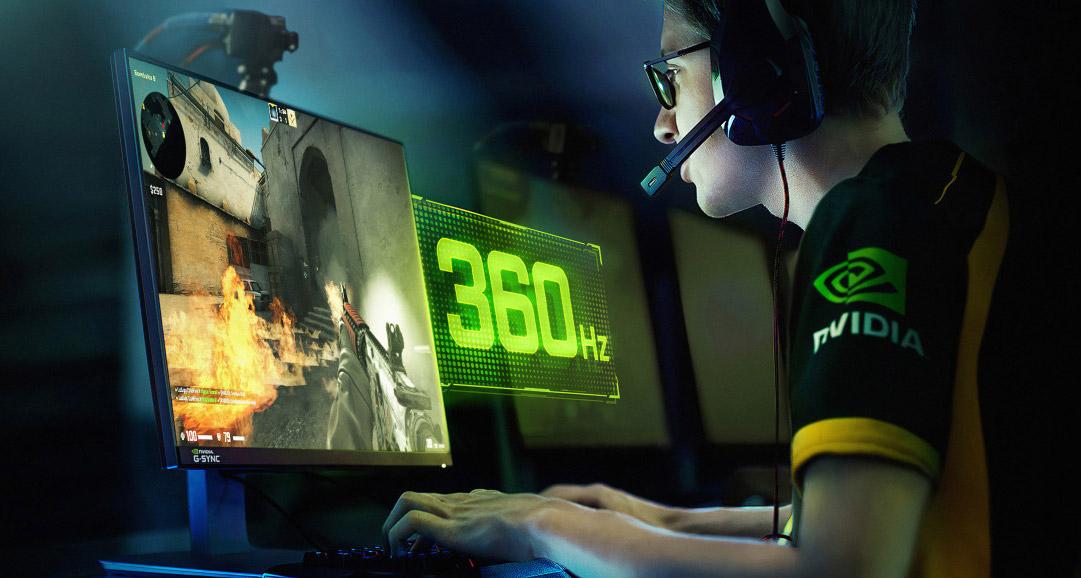 NVIDIA G-Sync 360 Hz (ASUS ROG Swift 360)