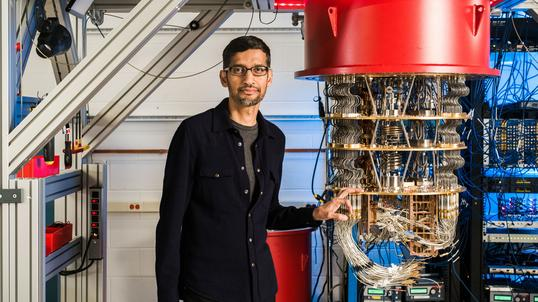 Google zaprezentowało supremację kwantową na Sycamore (Sundar Pichai)