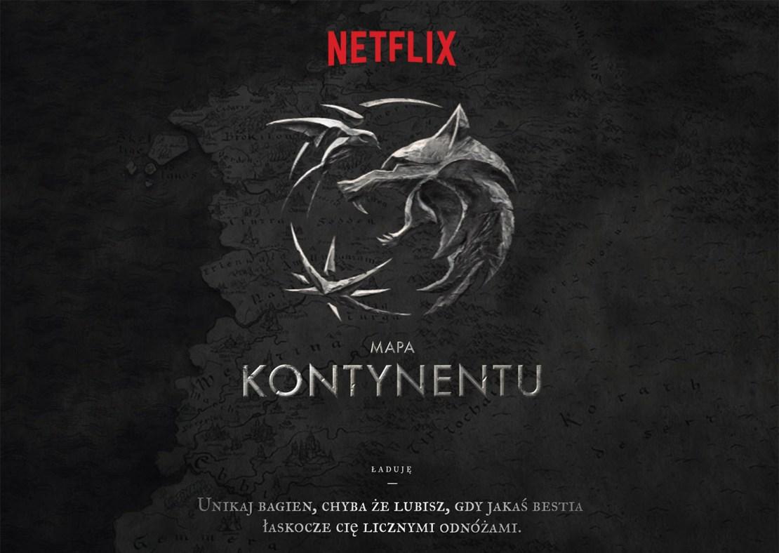 Mapa Kontynentu – Wiedźmin (Netflix)