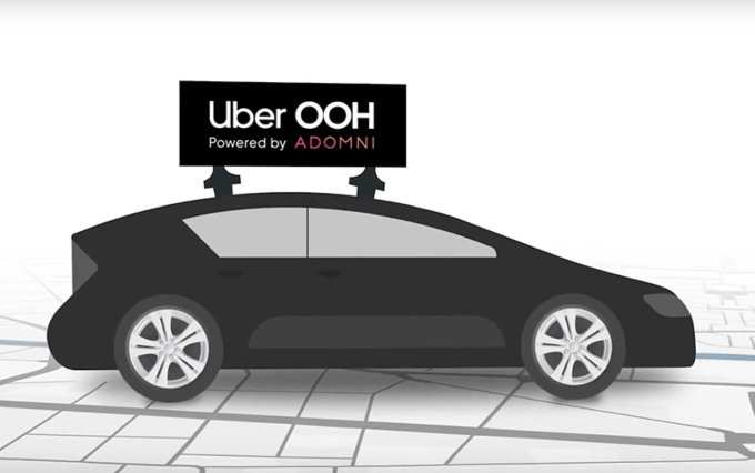 Uber OOH Powered by Adomni