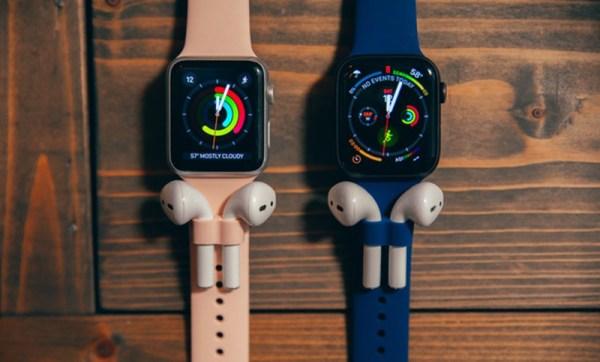 AirBands – paski Apple Watcha z uchwytem na AirPodsy