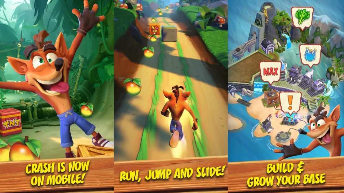 Crash Bandicoot Mobile (screens unofficial)