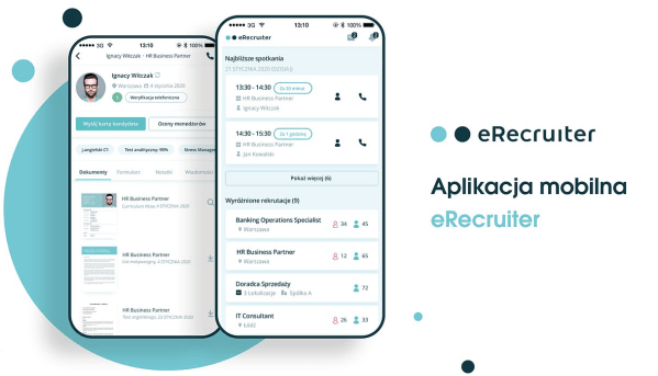 eRecruiter ma nową aplikację mobilną