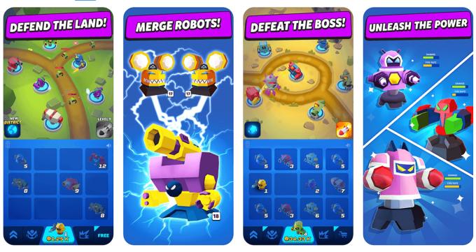 Merge Tower Bots (screeny)