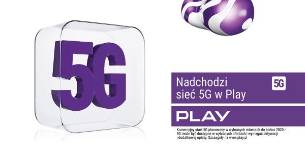 Przygotuj się na 5G w Play zgarniając 2 razy więcej internetu przez rok!