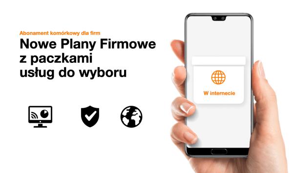 Orange uruchamia 4 nowe Plany Firmowe z paczkami usług do wyboru