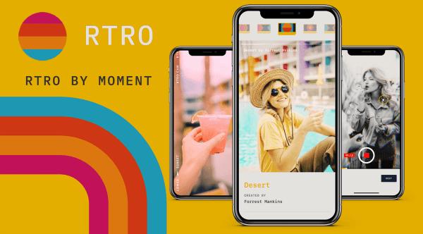 RTRO to nowa aplikacja w stylu vintage camera od Moment