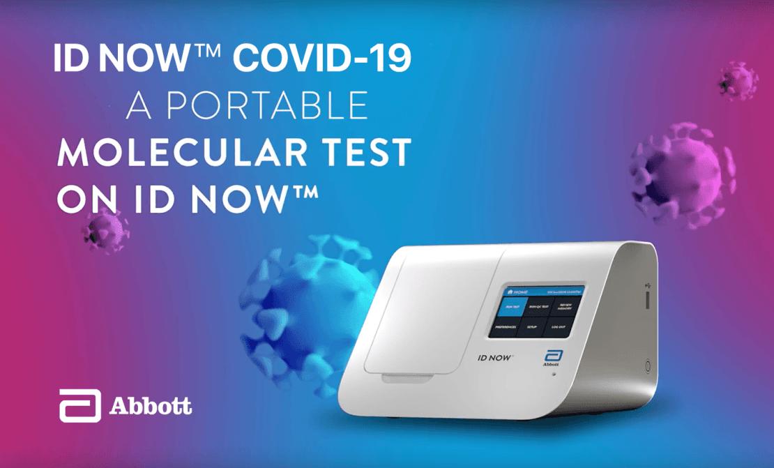 Urządzenie wykrywające koronawirusa w 5 minut – ID NOW COVID-19 firmy Abbott