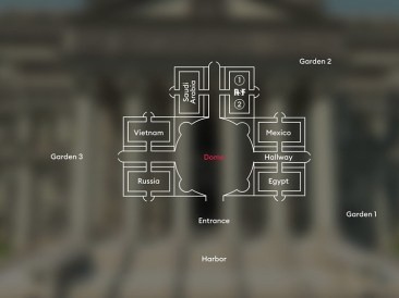 Mapa The Uncensored Library