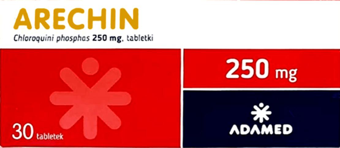 Arechin – opakowanie leku