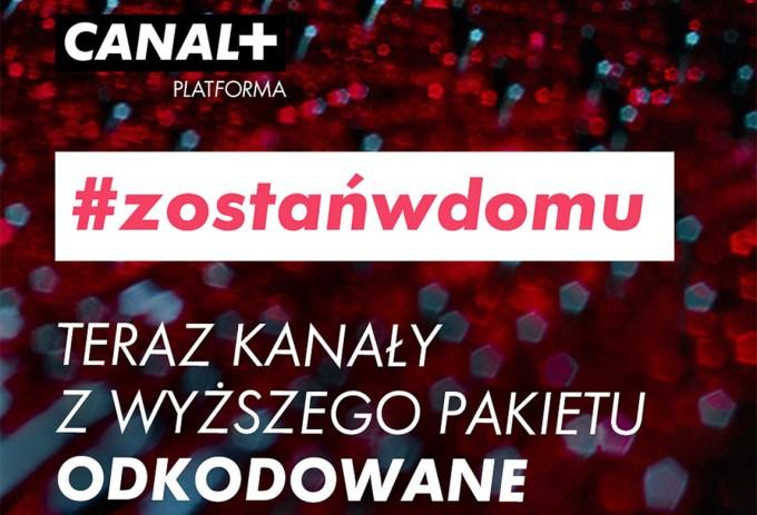 CANAL+ #ZostanWDomu