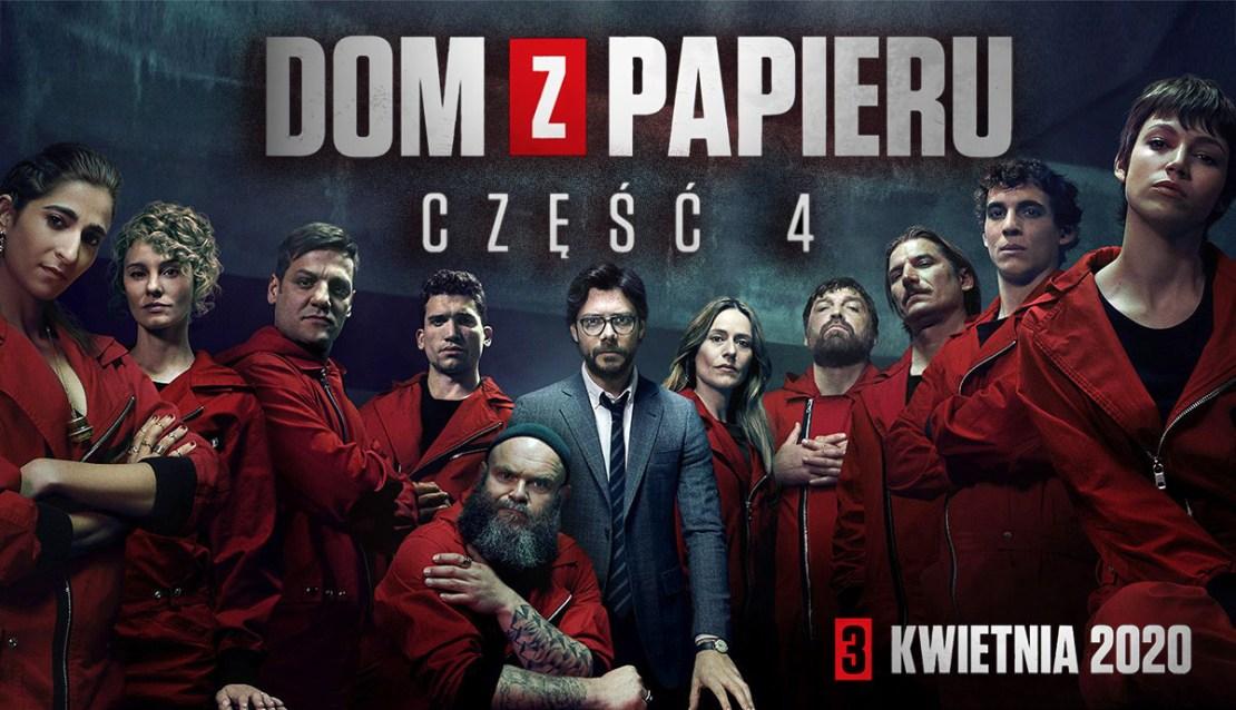 """""""Dom z papieru"""" część 4. (3 kwietnia 2020 r.)"""
