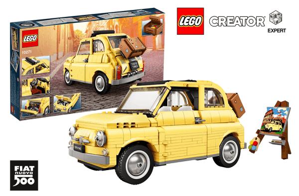 Model LEGO® Fiat 500 w ofercie specjalnej jest już dostępny
