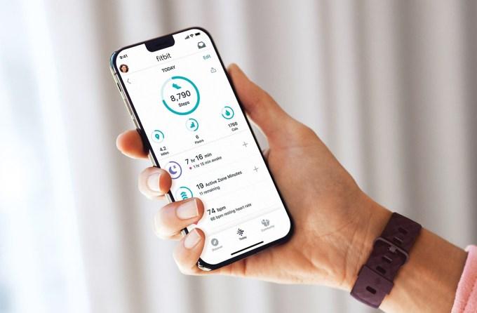 Fitbit - aplikacja mobilna