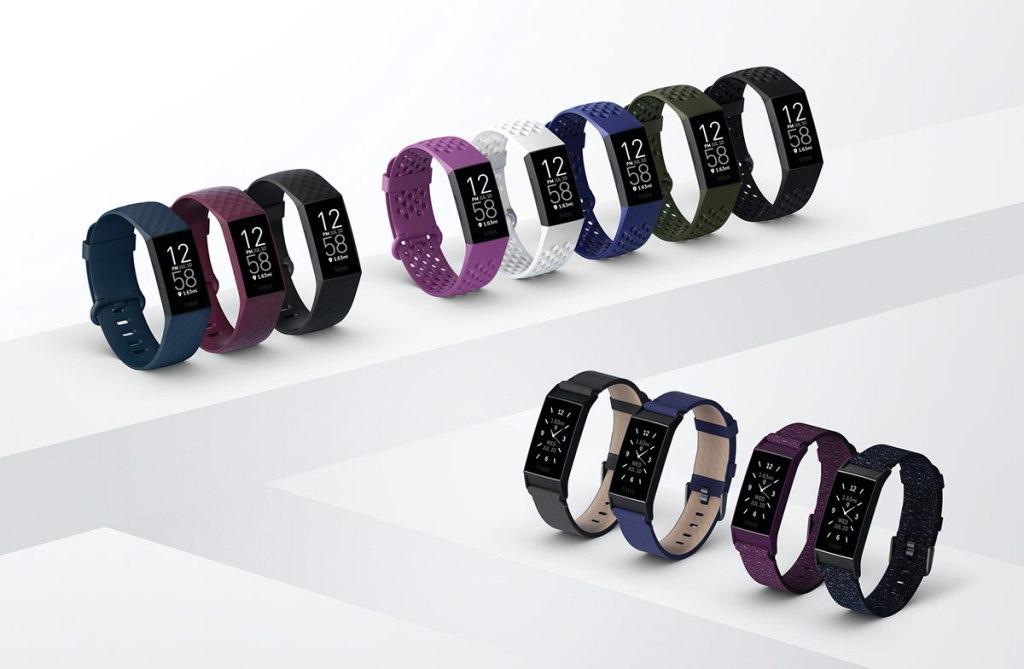Wersje kolorystyczne Fitbit Charge 4
