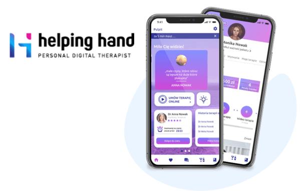 Helping Hand pierwszym w Europie ekosystemem cyfrowej terapii uzależnień