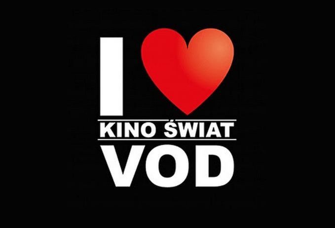 I ❤️ KINO ŚWIAT VOD (logo)