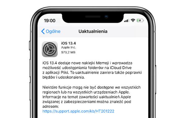 Finalne iOS 13.4 i iPadOS 13.4 dostępne do pobrania