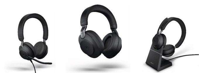 Gama słuchawek Jabra Evolve2